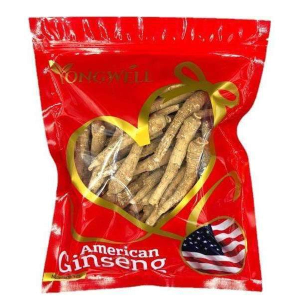 Hand-selected American Ginseng Medium Thin-Short Size (4oz. 8oz. or 1lb. Gift Bag)-New Green Nutrition