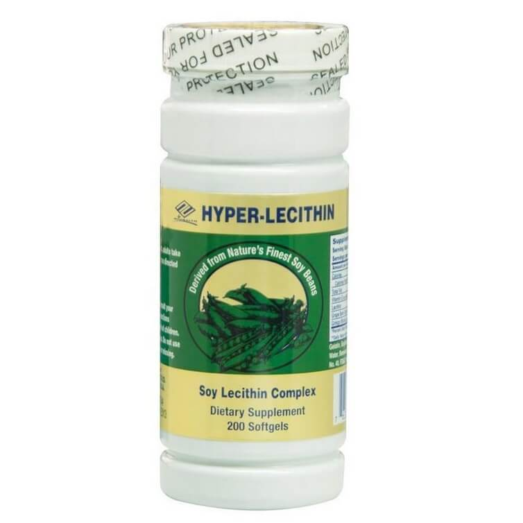 Hyper Lecithin+Ginkgo+OPC+Vitamin E (200 Softgels)-Buy at New Green Nutrition