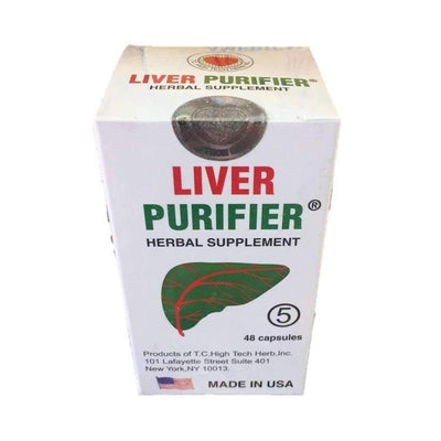Liver Purifier 5 (48 Capsules)-Buy at New Green Nutrition
