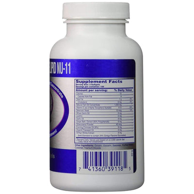 Marine Lipid Nu-11 (200 softgels)-Buy at New Green Nutrition