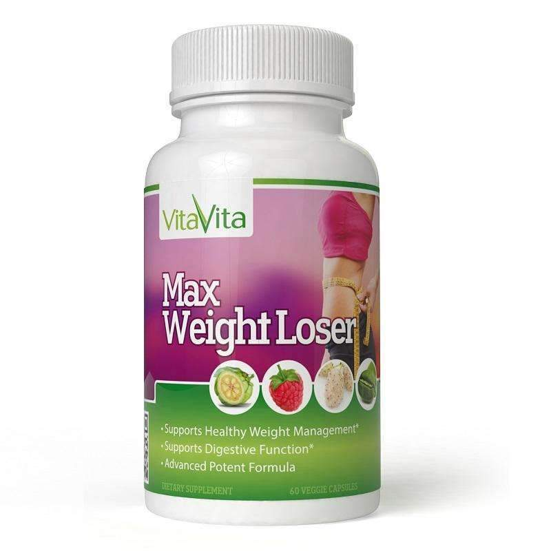 Max Weight Loser (60 Veggie Capsules)-Buy at New Green Nutrition