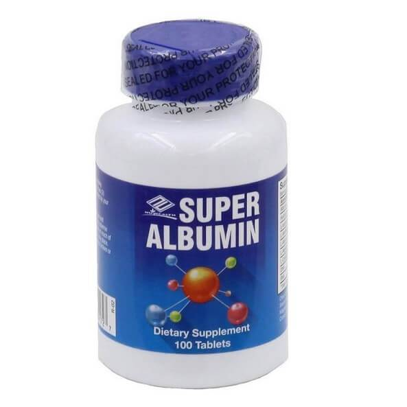 Nu Health Super Albumin (100 Tablets)-Nu-Health