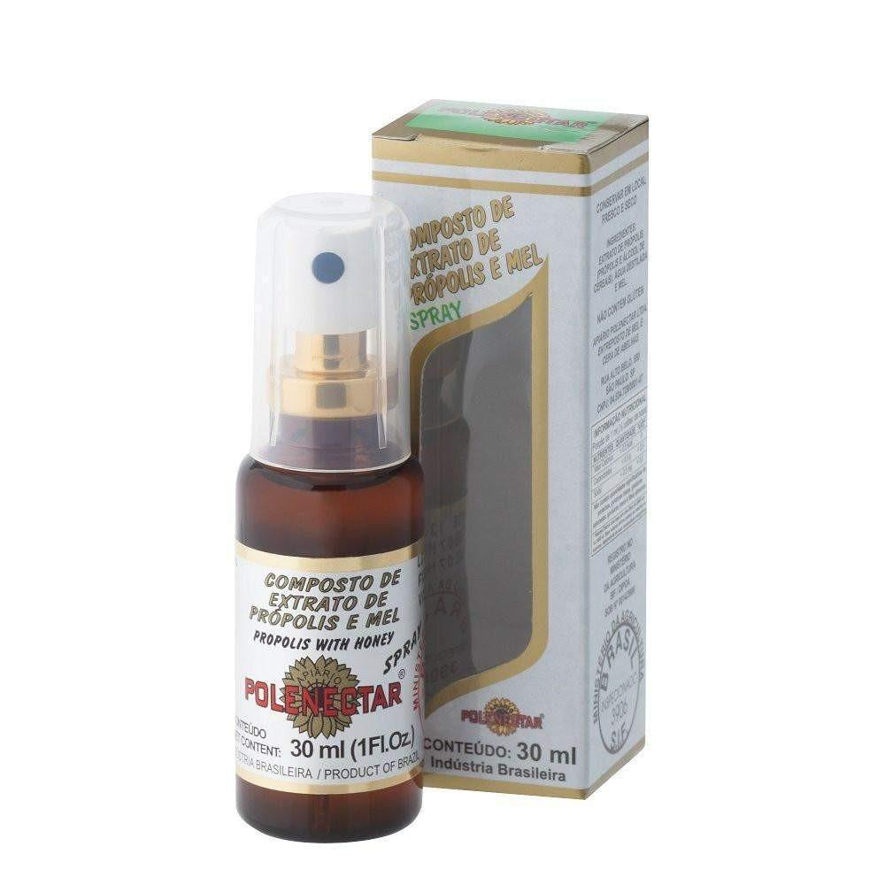 Polenectar Propolis Extract with Honey in Spray Form (30ml)-polenectar