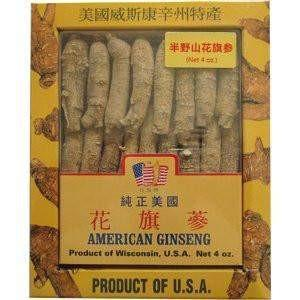 Premium American Ginseng Root Long-Medium Size (4 oz)-New Green Nutrition