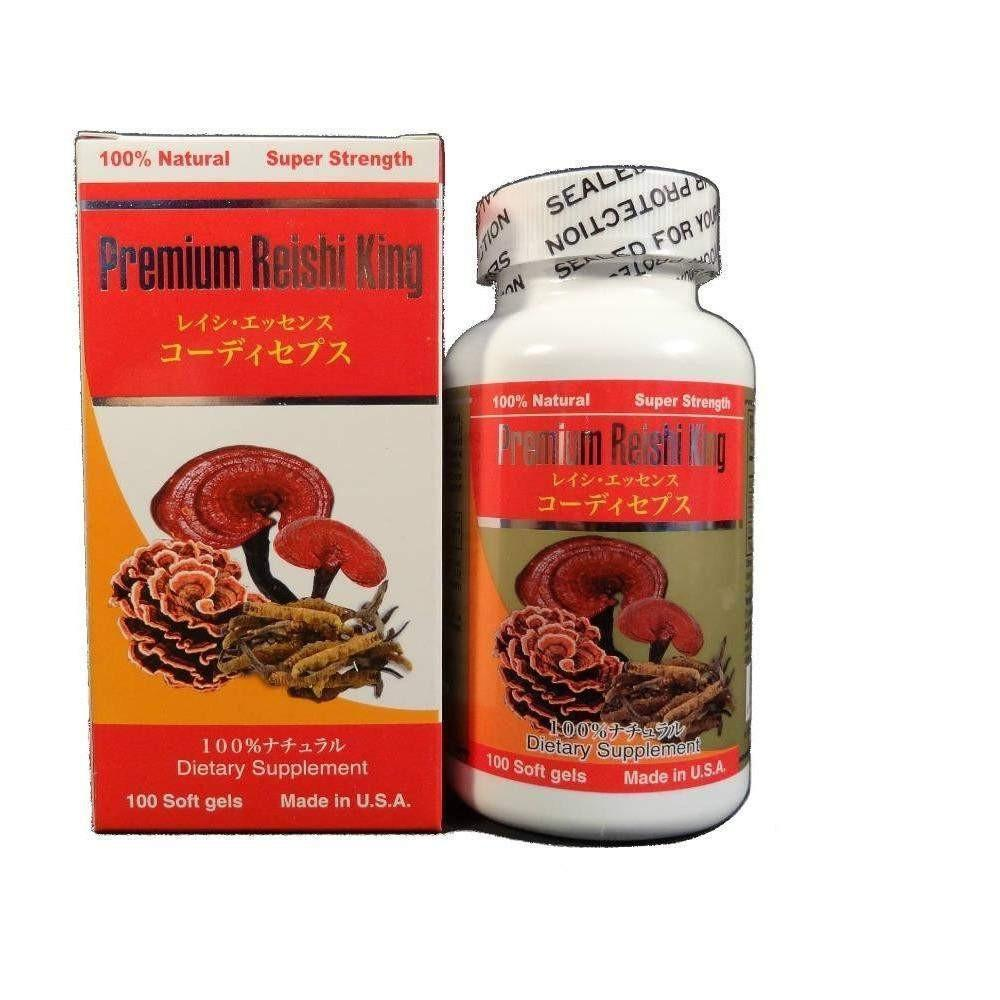 Premium Reishi King (100 Softgels)-Buy at New Green Nutrition