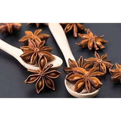 Premium Whole Dried Star Anise Seeds (Anis Estrella)-New Green Nutrition
