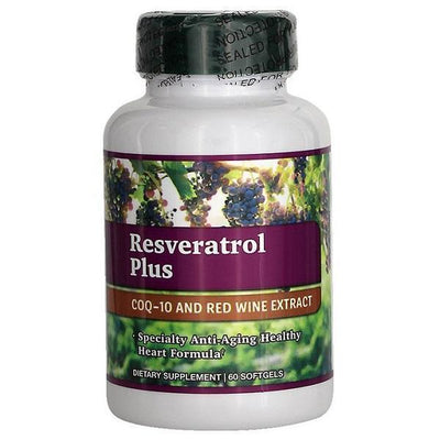 Resveratrol Plus (60 Softgels)-Buy at New Green Nutrition