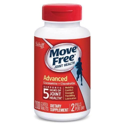 Schiff Move Free Advanced (200 Tablets)-Buy at New Green Nutrition
