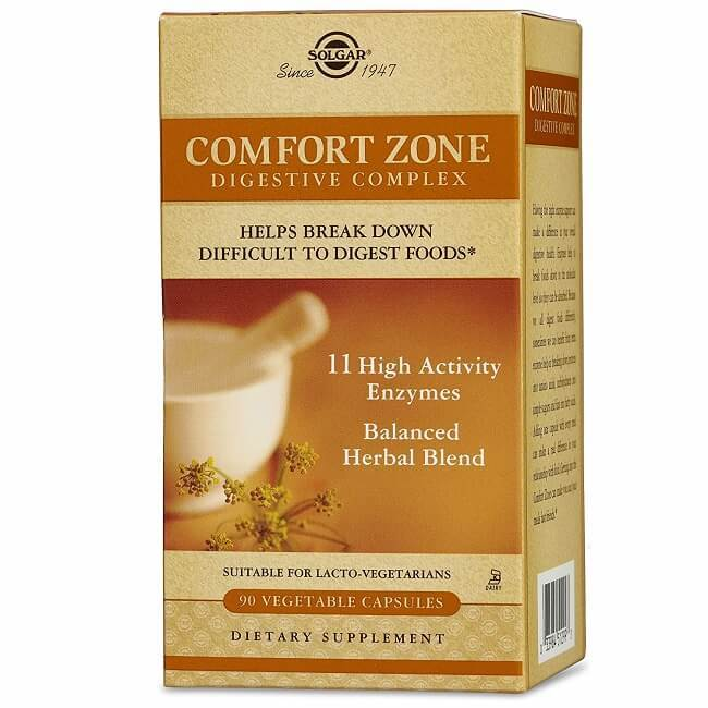 Solgar Comfort Zone Digestive Complex (90 Vegetable Capsules)-Buy at New Green Nutrition