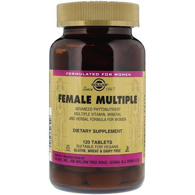 Solgar Female Multiple (120 Tablets)-Buy at New Green Nutrition