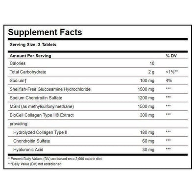 Solgar Glucosamine Hyaluronic Acid Chondroitin MSM, Shellfish-Free (120 Tablets)-Buy at New Green Nutrition