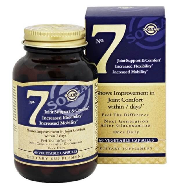 Solgar No. 7 Joint Support (60 Vegetable Capsules)-Solgar