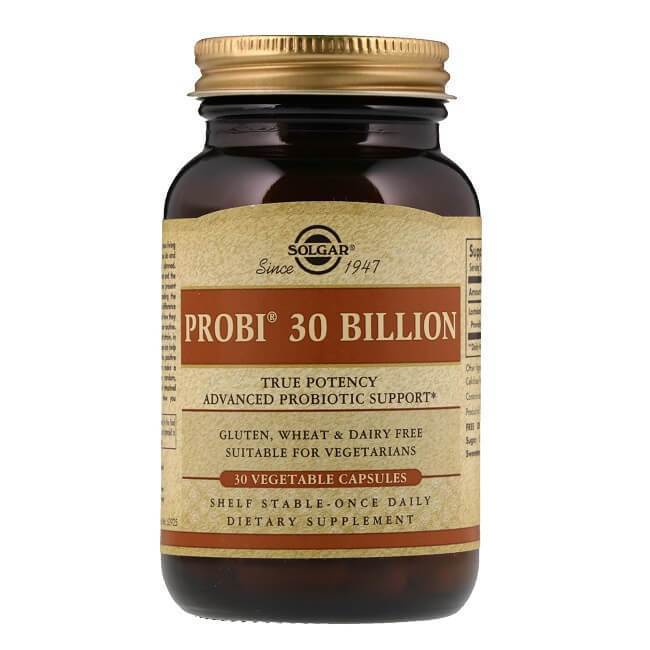 Solgar Probi 30 Billion (30 Vegetable Capsules)-Buy at New Green Nutrition