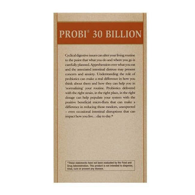 Solgar Probi 30 Billion (30 Vegetable Capsules)-Solgar