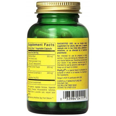 Solgar SFP Black Cohosh Root Extract (60 Vegetable Capsules)-Buy at New Green Nutrition