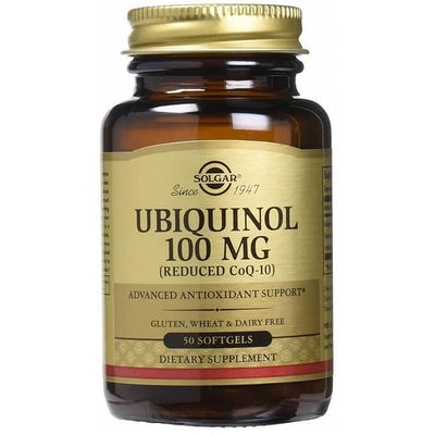 Solgar Ubiquinol 100 mg (50 Softgels)-Buy at New Green Nutrition