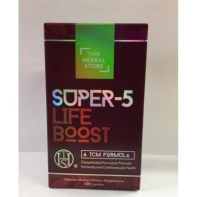 Super-5 Life Boost (120 Capsules)-Confidence USA