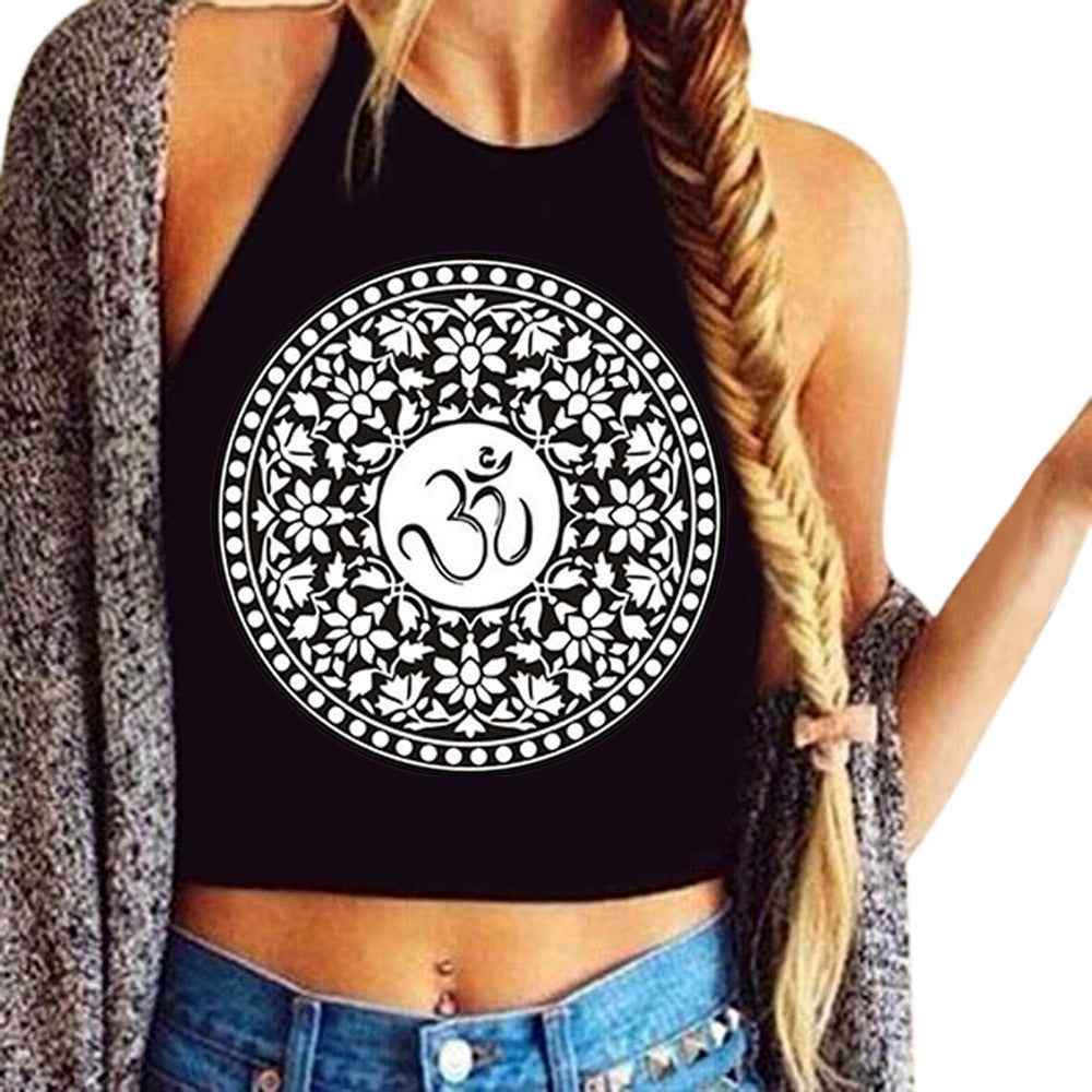 Ohm Crop Top