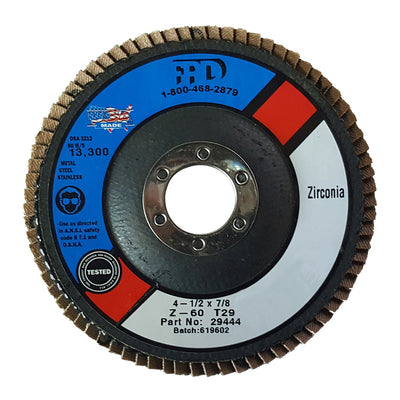 Farrier Products Zirconia Flap Disc