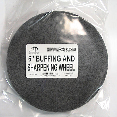 Farrier Products Buffing/Sharpening Wheel - 6''