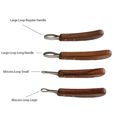 Hall Abscess Loop Knife