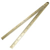 "Blurton 24"" Brass Folding Ruler"