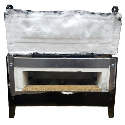 NC Whisper Lowboy Forge with 3 Burners + 2 Side Ports