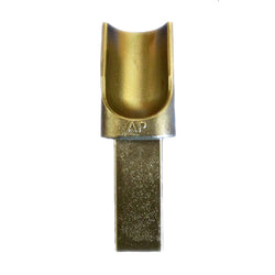"AP Tool Half Round Anvil Hardy 1"" Shaft"