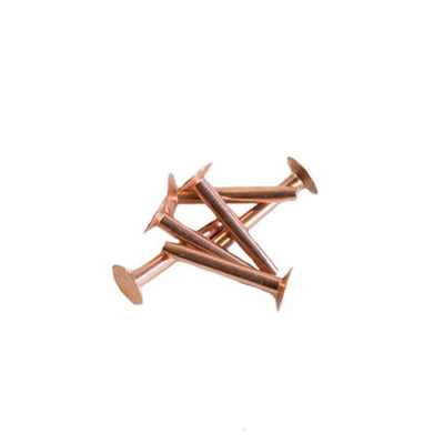 Delta # 10 Copper Rivets - per Box