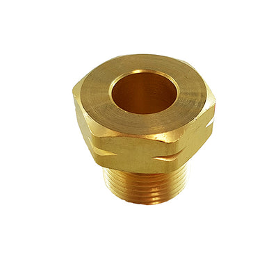 "Nut for 1/4"" Propane Regulator Nipple"