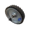 Bader 10'' x 2'' Medium 70 Durometer Contact Wheel