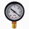 "Dry Pressure Gauge 2"" Face with Hg scale"