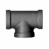 Black Iron Female Pipe Tee Fitting