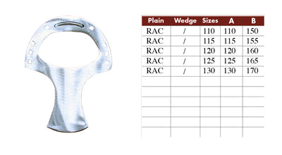 Colleoni RAC Racket Trotter Aluminum Horseshoes - per Pair