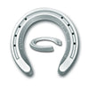 Hanton Elite Competition Wedge Aluminum Horseshoes - Kit