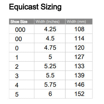 Equicast Wood Therapeutic Clog with Leather Rim Pad - per Pair