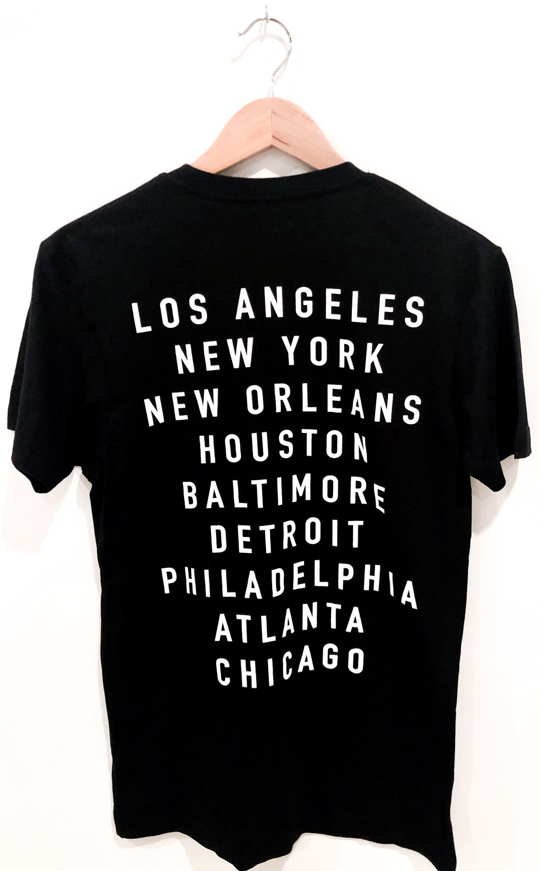 BLACK City On My Back Tee