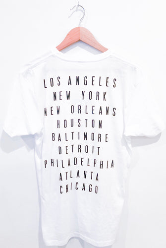 WHITE City On My Back Tee