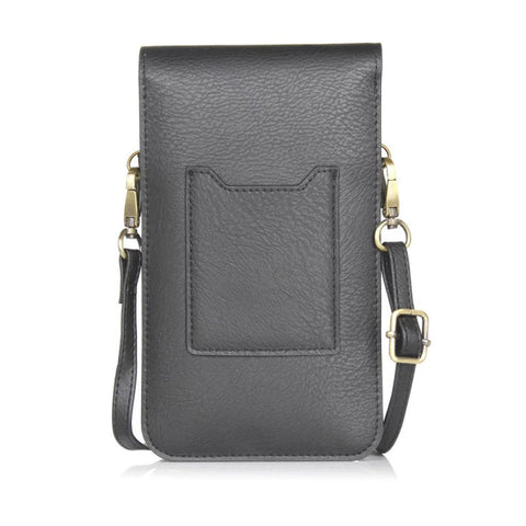 "Universal 6.3"" PU Leather Phone Bag - multiple colours"