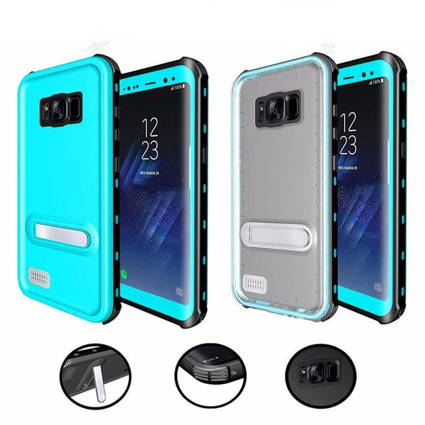Waterproof Underwater PC + TPU Armor Cover Samsung Galaxy S8