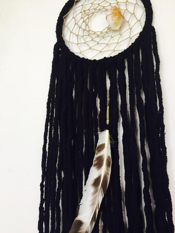 Grounding Black Citrine Dreamcatcher
