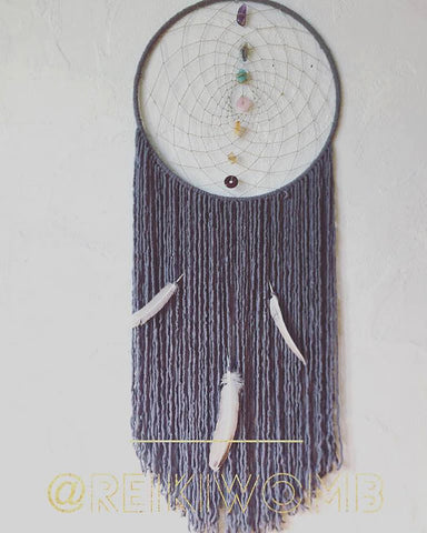 Rewiring the Grey Matter 7 Chakra Dreamcatcher
