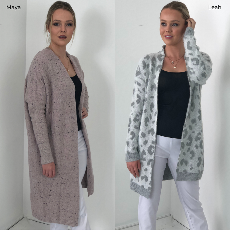 Cosy cardigan collection