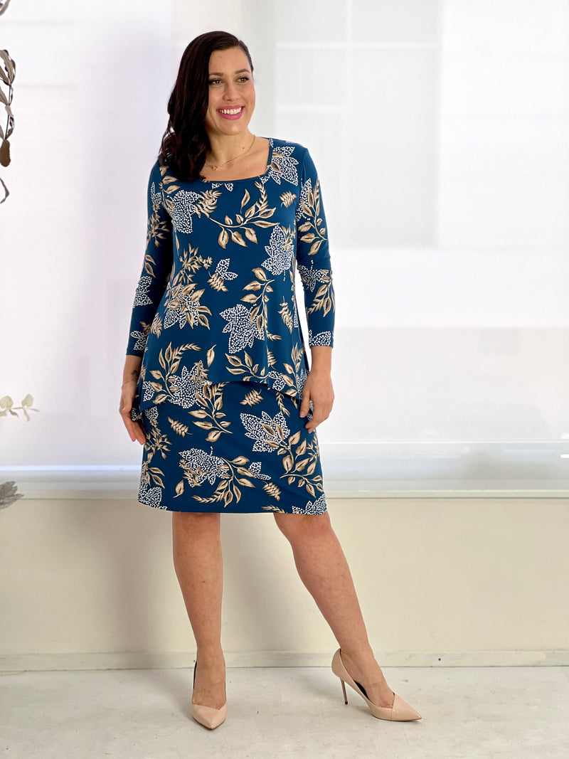 Etham Red Sequin Evening Dress
