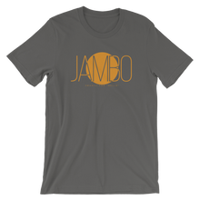 """Jambo"" (Swahili: Hello) Short Sleeve Unisex T-Shirt (Online)"