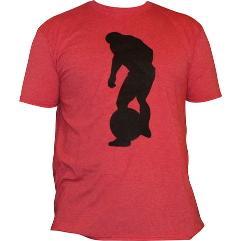 Atlas Stone Shirt Strongman Red