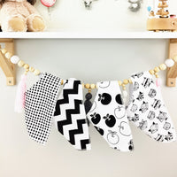 Bandanna Baby Bibs - Set of 4