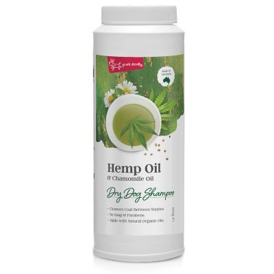 Hemp Oil & Chamomile Dry Dog Shampoo