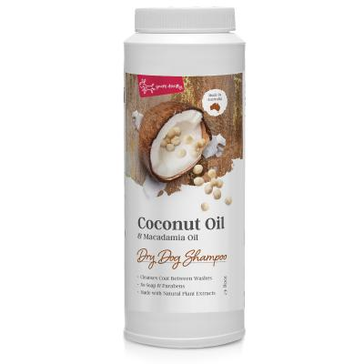 Coconut Oil & Macadamia Oil Dry Dog Shampoo
