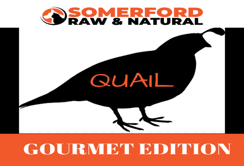 Somerford Raw & Natural - GOURMET EDITION Cat Food Hunter Valley Quail Pack + FREE Meaty Bones
